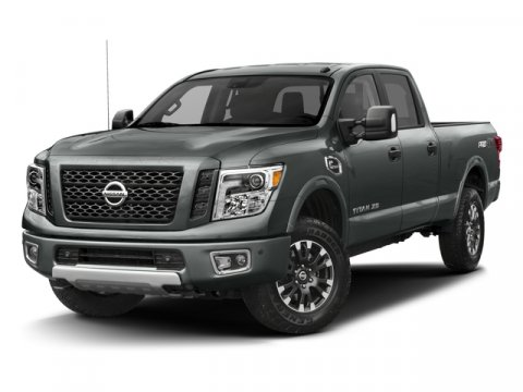2016 Nissan Titan XD PRO-4X Deep Blue PearlBlack V8 50 L Automatic 0 miles Take on the bigges