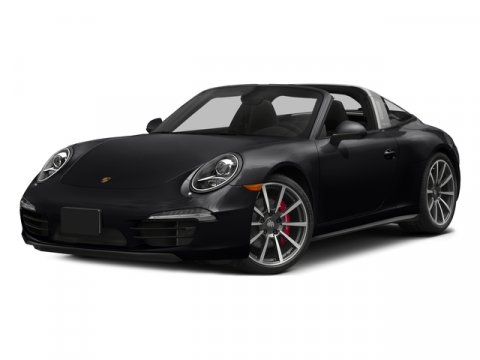 2016 Porsche 911 Targa 4S BlackBlk Grnt Red Lt V6 38 L Automatic 8 miles The displacement of