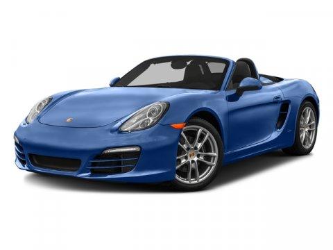 2016 Porsche Boxster WhiteBlack V6 27 L Automatic 6251 miles Price plus government fees and