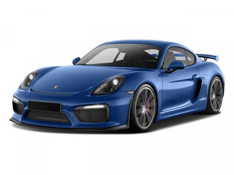 2016 Porsche Cayman GT4 Sapphire Blue MetallicBlack V6 38 L Manual 35 miles  Rear Wheel Drive