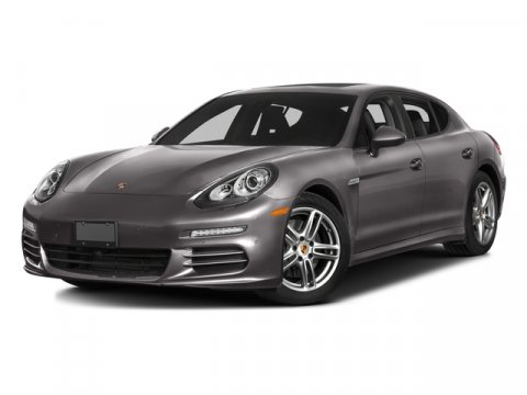2016 Porsche Panamera 4 Edition WhiteStndrd Blk Lxr V6 36 L Automatic 9 miles The concept ha
