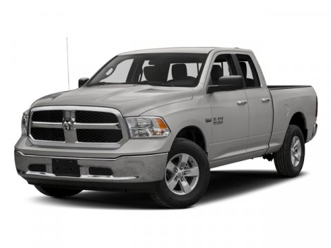 2016 Ram 1500 ST Bright White ClearcoatCLOTH V8 57 L Automatic 1 miles  Rear Wheel Drive  Po