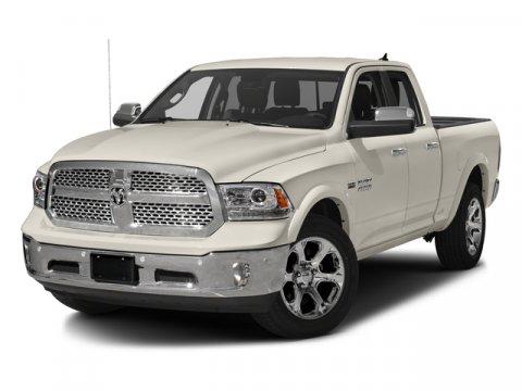 2016 Ram 1500 Laramie  V6 30 L Automatic 44742 miles  Four Wheel Drive  Tow Hitch  Power St