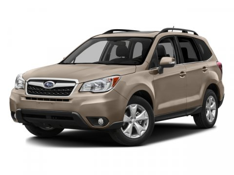 2016 Subaru Forester 25i Limited Jasmine Green MetallicGray V4 25 L Variable 10 miles  AERO