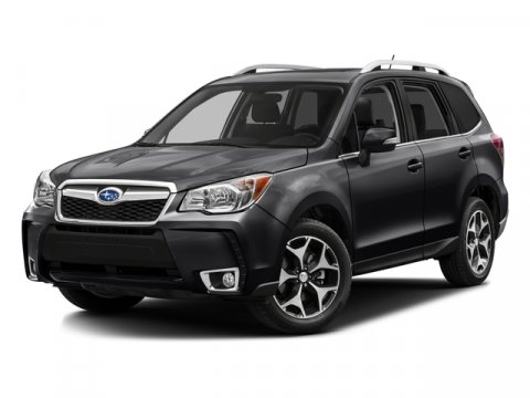 2016 Subaru Forester 20XT Premium Crystal Black Silica V4 20 L Variable 9962 miles What a pr