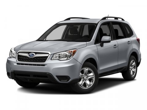 2016 Subaru Forester 25i Premium Ice Silver MetallicGray V4 25 L Variable 0 miles  AERO CROS