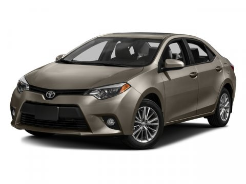 2016 Toyota Corolla LE ECO Brown Sugar MetallicIvory V4 18 L Variable 0 miles  CF  FE  F