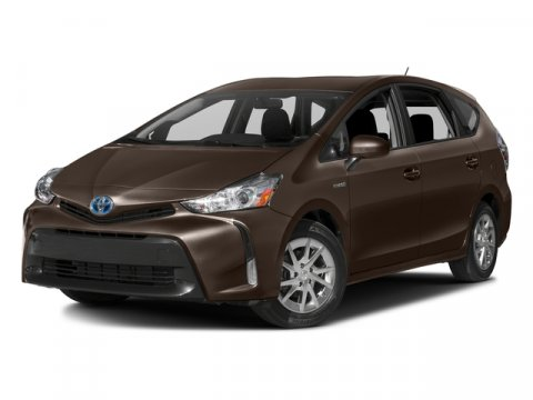 2016 Toyota Prius v Three Toasted Walnut PearlBlack V4 18 L Variable 0 miles  CF  FE  F  C