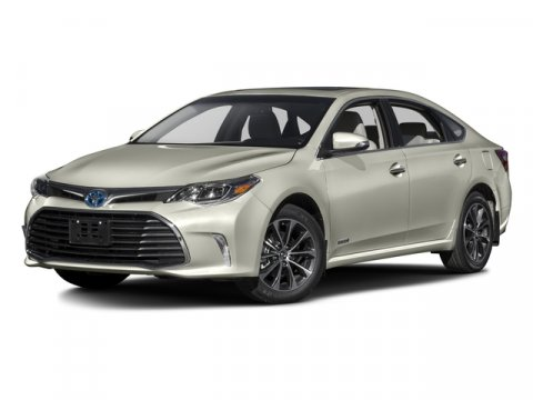 2016 Toyota Avalon Hybrid XLE Premium Magnetic Gray MetallicLight Gray V4 25 L Variable 0 mile