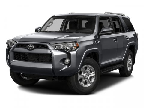 2016 Toyota 4Runner SR5 Magnetic Gray MetallicBlackGraphite V6 40 L Automatic 44 miles  Rear