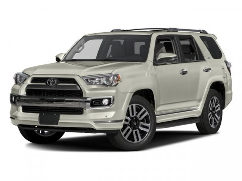 2016 Toyota 4Runner Limited Blizzard Pearl V6 40 L Automatic 20117 miles 4WD and Black wLeat