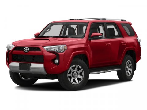 2016 Toyota 4Runner Trail Premium Nautical Blue PearlBlack V6 40 L Automatic 5 miles  CF  FE