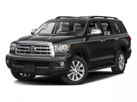 2016 Toyota Sequoia Limited BlackGraphite V8 57 L Automatic 5 miles  Four Wheel Drive  Tow H