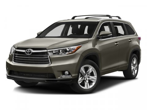 2016 Toyota Highlander Limited Midnight Black MetallicBlack V6 35 L Automatic 5 miles  CF  F