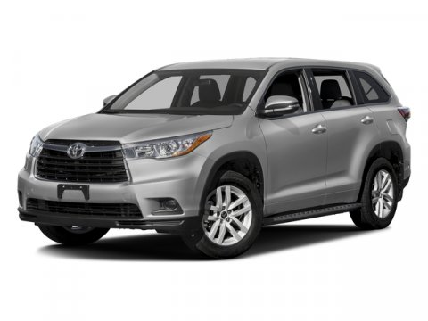 2016 Toyota Highlander LE Midnight Black MetallicBlack Fabric V6 35 L Automatic 0 miles  Fron