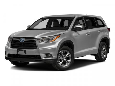 2016 Toyota Highlander Hybrid Limited Platinum Blizzard PearlAsh V6 35 L Variable 5 miles  CF