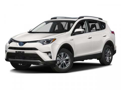 2016 Toyota RAV4 Hybrid XLE BLACKSAND V4 25 L Variable 1 miles  All Wheel Drive  Power Stee