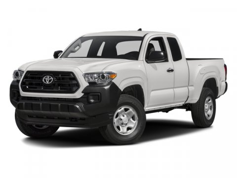 2016 Toyota Tacoma SR Super WhiteCement Gray V4 27 L Automatic 8 miles  FE  BZ  CL  CRUISE