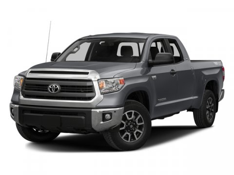 2016 Toyota Tundra SR5 Magnetic Gray MetallicBlack Fabric V8 57 L Automatic 10 miles  Rear Wh