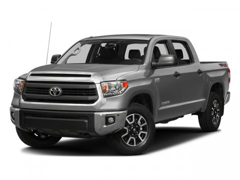 2016 Toyota Tundra SR5 BlackGraphite V8 57 L Automatic 0 miles  Four Wheel Drive  Tow Hitch