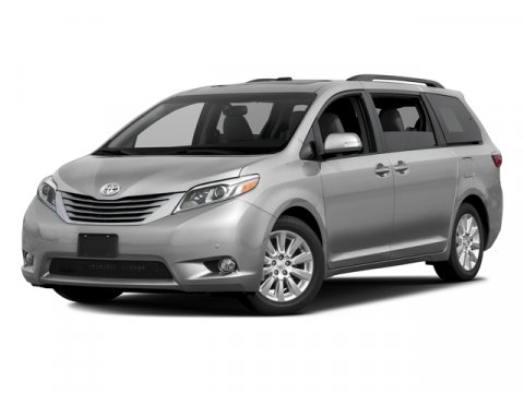 2016 Toyota Sienna XLE Predawn Gray MicaAsh V6 35 L Automatic 0 miles  ALLOY WHEEL LOCKS  CA