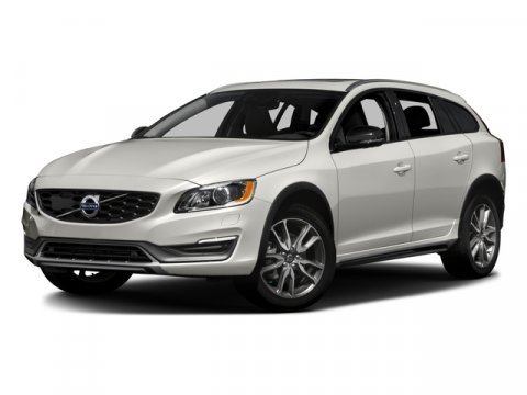 2016 Volvo V60 T5 Wagon Cross Country AWD Crystal White PearlOff-Black V5 25 L Automatic 7967