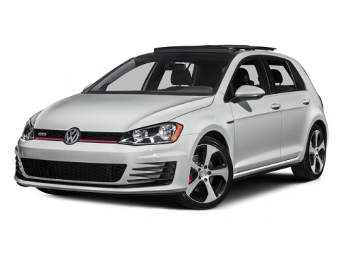 2016 Volkswagen Golf GTI S PURE WHITE V4 20 L Manual 26860 miles Stick shift Turbo Want to