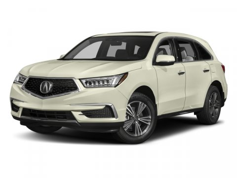 2017 Acura MDX MDX Modern Steel MetallicEbony V6 35 L Automatic 7 miles  GY EN Stock 30807