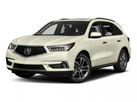 2017 Acura MDX wAdvance Pkg Polished Metal MetallicEbony V6 35 L Automatic 5 miles  All Whee