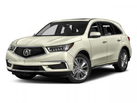 2017 Acura MDX wTechnologyEntertainment Pkg White Diamond PearlEbony V6 35 L Automatic 8 mil