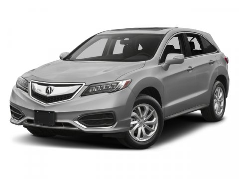 2017 Acura RDX L GrayBlack V6 35 L Automatic 7845 miles AWD ACURA FACTORY CERTIFIED with NAV