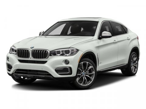 2017 BMW X6 sDrive35i Alpine WhiteBlack V6 30 L Automatic 0 miles  Turbocharged  Rear Wheel