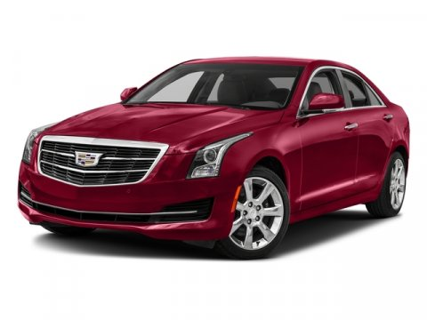2017 Cadillac ATS Sedan Luxury RWD Red Obsession TintcoatLIGHT PLATINUM W JET BLACK V4 20L Aut