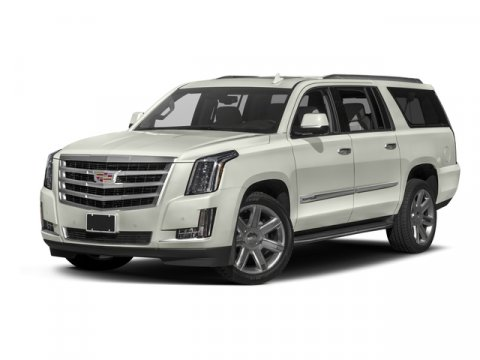 2017 Cadillac Escalade ESV Luxury Crystal White TricoatJet Black V8 62L Automatic 8 miles  LP