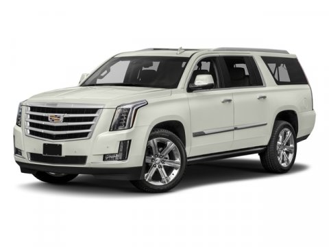 2017 Cadillac Escalade ESV Premium Luxury Crystal White TricoatShale with Cocoa Accents V8 62L