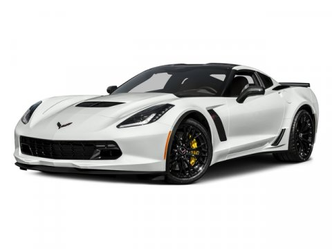 2017 Chevrolet Corvette Z06 1LZ Arctic WhiteJet Black V8 62L Automatic 0 miles  Supercharged
