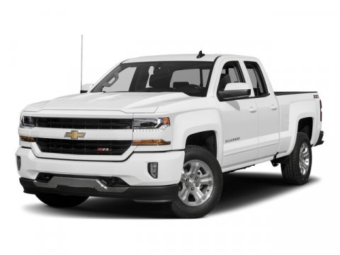 2017 Chevrolet Silverado 1500 LT Silver Ice MetallicJet Black V8 53L Automatic 4 miles  SPRAY