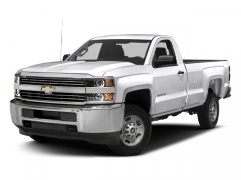 2017 Chevrolet Silverado 2500HD Work Truck Summit WhiteDk Ash With Jet Blk Vinyl V8 60L Automat