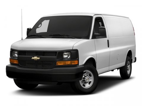 2017 Chevrolet Express Cargo Van G3500 Summit WhiteMED PEWTER CUSTOM CLOTH V8 60L Automatic 5