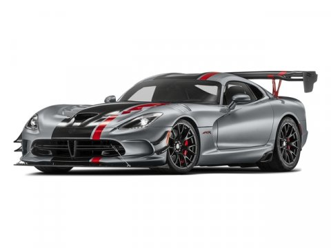 2017 Dodge Viper ACR Billet Silver Metallic ClearcoatHeader RedBlack V10 84 L Manual 5 miles