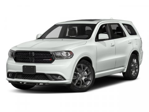 2017 Dodge Durango RT White KnuckleLUX LTHR V8 57 L Automatic 1 miles  Rear Wheel Drive  Po