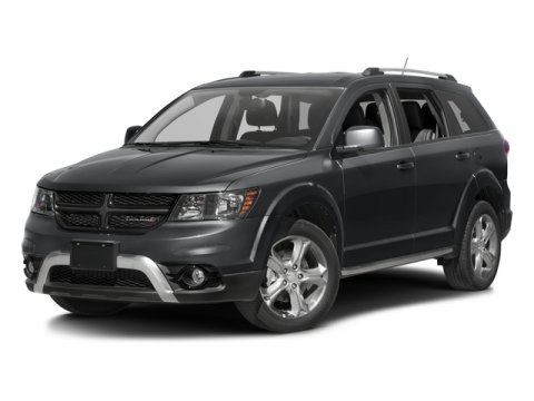 2017 Dodge Journey Crossroad Plus Pitch Black ClearcoatBlack V4 24 L Automatic 2 miles  PREMI