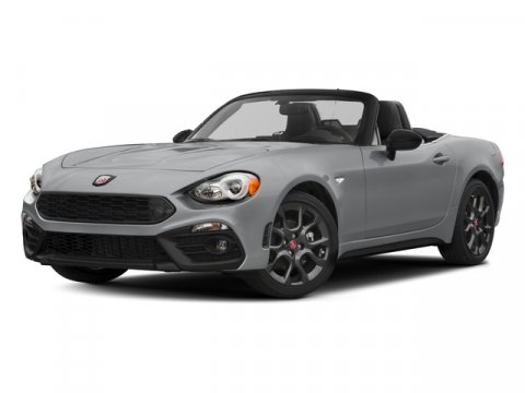 2017 FIAT 124 Spider Elaborazione Abarth Rosso Red PaintLeatherMicrofi V4 14 L Manual 10 mile