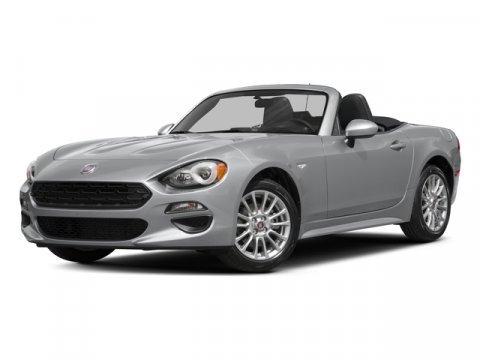 2017 FIAT 124 Spider Classica NERO CINEMA JETPremium Cloth V4 14 L Manual 10 miles With a Cla