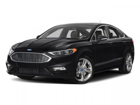 2017 Ford Fusion Sport Shadow BlackPs Leather Pack Heated Seating Dark Earth Gray V6 27 L Autom