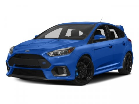 2017 Ford Focus RS Nitrous Blue Quad-CoatCharcoal Black V4 23 L Manual 10 miles It only takes