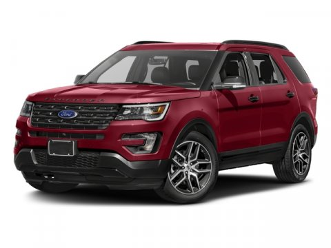 2017 Ford Explorer Sport Ruby Red Metallic Tinted ClearcoatEbony V6 35 L Automatic 0 miles Th