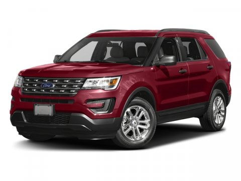 2017 Ford Explorer Base Ruby Red Metallic Tinted ClearcoatCamel V6 35 L Automatic 5 miles The