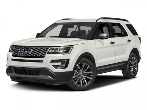2017 Ford Explorer Platinum 4X4 EcoBoost GrayEbony Black V6 35 L Automatic 0 miles The 2017 E