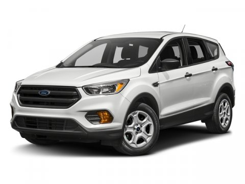 2017 Ford Escape SE Oxford WhiteKb Cloth Bucket Seats Charcoal Black V4 20 L Automatic 0 miles